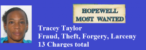 Taylor, Tracey most wanted